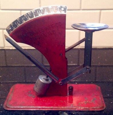 Vintage Oakes Metal Egg Scale/Measure Excellent Condition