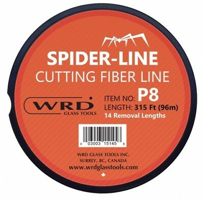 WRD P8 Spider Cutting Line Heavy Gauge, 315 Ft, 14 Pre-marked Lengths