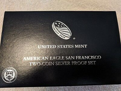2012S American Silver Two Coin Proof Set