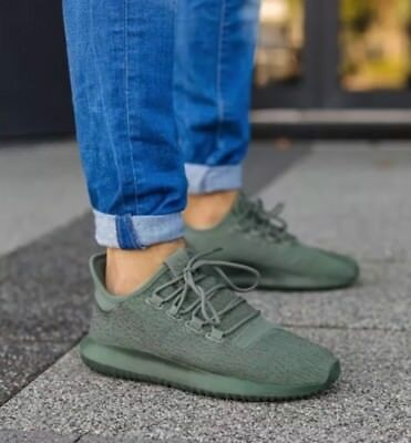02826145964 Adidas Tubular Shadow Trace Green Men s Size 9.5 NEW! Free S H! BY3573