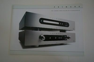 NEW JAPAN PRIMARE I32, I22, CD32, CD22, PRE32, A34.2, A32, DAC30, R32, Catalog
