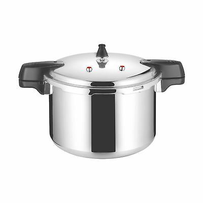 15L / 30cm Heavy Duty Aluminium Pressure Cooker Fast Cooking Easy Clean