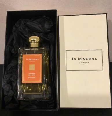JO MALONE ORANGE BITTERS, RARE LIMITED EDITION. LARGE 100ml, NEW+ BOX+ RIBBON