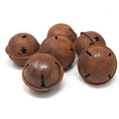 Small Rusted Metal Craft Bells, 1-1/2-Inch, 20-Count