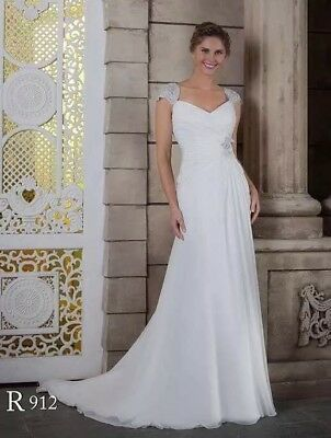 White Rose R912 Ivory Size 16 18 Bridal Gown Wedding Dress
