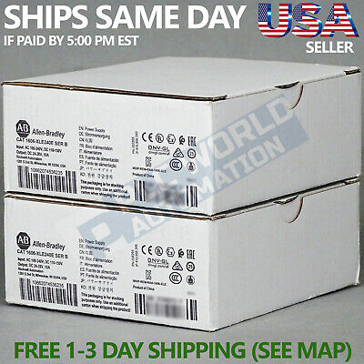 2018 *brand New* Allen Bradley 1606-Xle240E Ser A Power Supply Latest Mfg Date