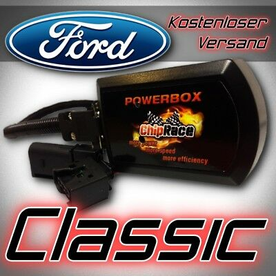 Performance Power Chip BOX für FORD S-MAX 2.0 TDCI 163 PS 2006->2010 TUNING DE