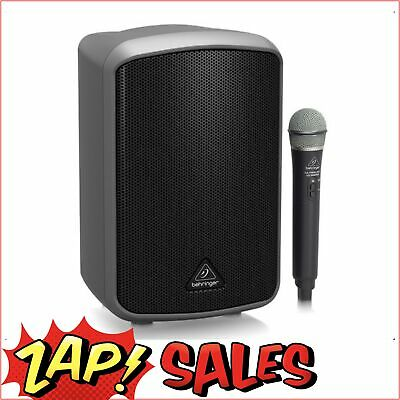 5% off with PLUG5: Behringer MPA100BT Portable 100W PA,Wireless Mic,Battery