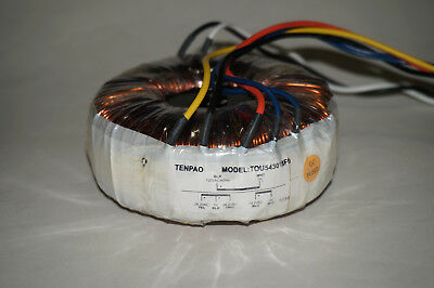 Audio Toroidal Power Transformer 120V 330VA (26.2-0-26.2) (14-0) TOU543018F0