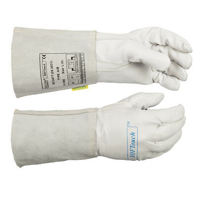 WELDAS SOFTouch, TIG Welding Gloves, Calfskin Leather, Very Soft, ALL SIZES