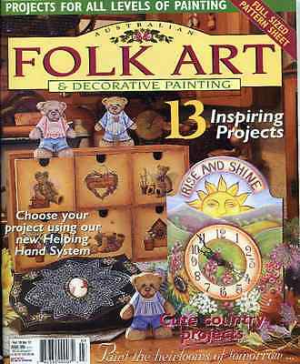 Magazine -   Folk Art & Decorative Painting  - Vol 10 No 12