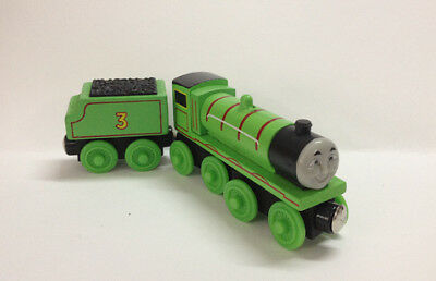 2pcs Thomas & Friends Railway Train Henry and Tender Set Magnetic Wooden Toy