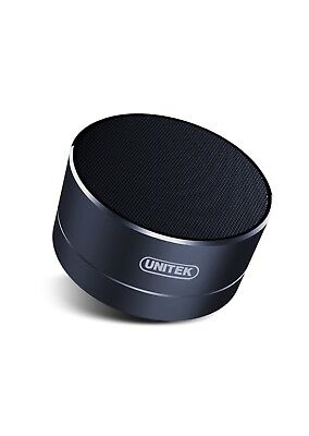 UNITEK Aluminium Wireless Stereo Portable Bluetooth Speaker with Handsfree Speak
