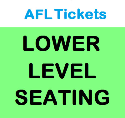 Port Adelaide Power V Geelong Cats ~ Round 5 Afl Tickets ~ Sat 21/4 Lower Level