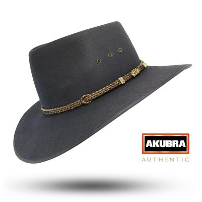 Akubra Cattleman - Graphite Grey