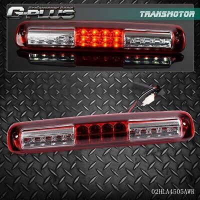 For Chevy Silverado GMC Sierra Clear LED 3rd Brake Light Cargo Lamp 1999 - 2006