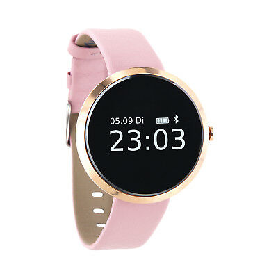 X-WATCH SIONA XW FIT rosa, Smartwatch Damen Fitness Armband iOS Android, B-Ware