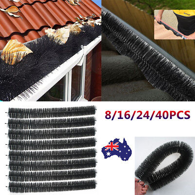 100MM Long Gutter Brush Guard Rooftop Protector Filter Clean Leaf Twigs AU Stock
