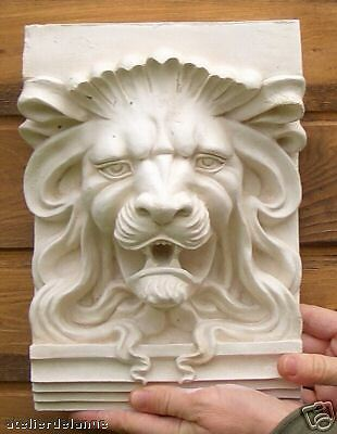 Lion fronton mascaron copie sculpure art 19 éme