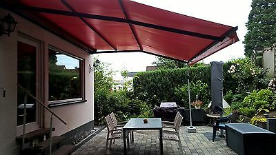 terrassen berdachung allwettermarkise pergola markise terrassenfaltdach eur. Black Bedroom Furniture Sets. Home Design Ideas