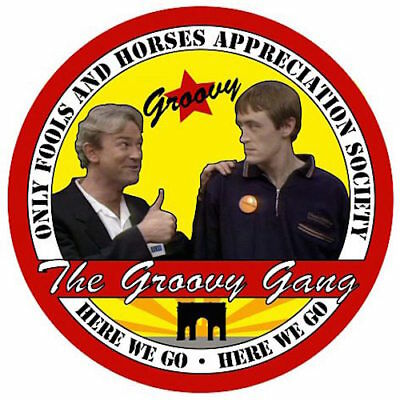 Only Fools and Horses Groovy Gang Society Enamel Badge