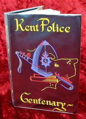 R.L. THOMAS - KENT POLICE CENTENARY 1857 to 1957 - 1/1 & D/J - 1957