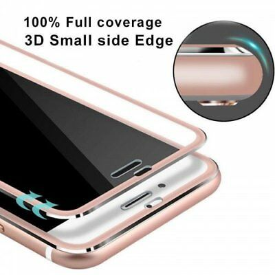 3D Tempered Glass Screen Protector Film with Curved Edge for iPhone 7/8 & Plus