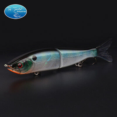 Slow Sinking Swimbait Jointed bait S-waver Segment Bass Fishing Lure 125MM/27G
