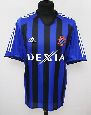 ADIDAS CLUB BRUGGE _ Football Shirt Jersey 2005/2006 HOME size L ( 964 )