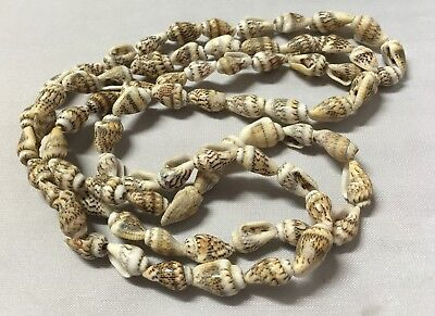 1 Strand 10mm Natural SeaShells Cone Shells Craft Jewellery Scrapbooking D0572