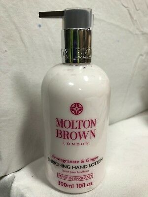 Molton Brown  Pomegranate & Ginger Enriching Hand Lotion 300ml ITEM CODE FM6