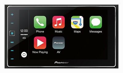 Pioneer AppRadio SPH-DA120 Car Stereo Bluetooth Touchscreen MP3 USB HDMI GPS DSP