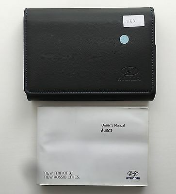 hyundai i30 owners manual handbook pack with wallet service 2011 rh picclick co uk 2012 Hyundai I30 2013 Hyundai I30