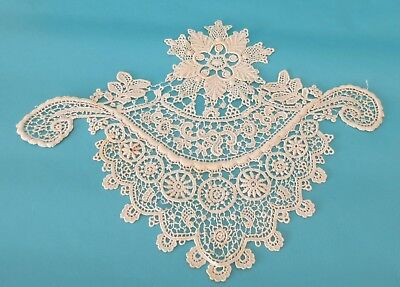 Lot of 4 Antique Lace Dress Inserts