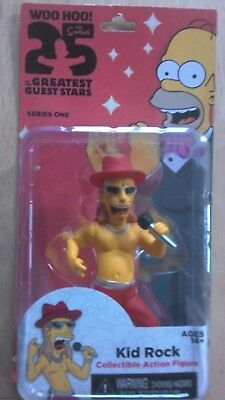 Simpsons 25th Anniversary Gast Star Serie - Kid Rock Actionfigur - Neu & Ovp