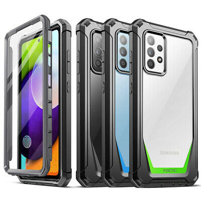 Galaxy Note 9 / S9 Case Poetic Clear PC Back TPU Bumper Drop Protection Cover