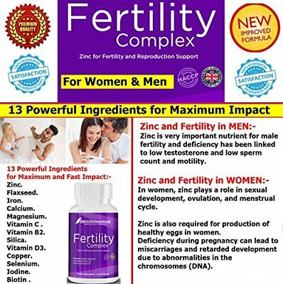 #1 FEMALE FERTILITY SUPPORT AND MALE FERTILITY SUPPORT SUPPLEMENT★ THE (qp0)