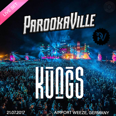 KUNGS - Live at Parookaville (Weeze) 21-07-2017 - AUDIO CD