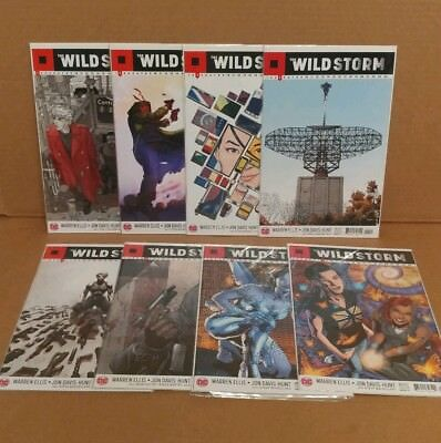 The Wild Storm 1 2 3 4 5 6-12 Complete Comic Lot Run Set Ellis DC The Wildstorm