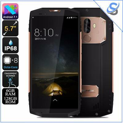 Blackview BV9000 Pro Rugged Phone Octa-Core Android 7.1 6GB RAM IP68 Gold