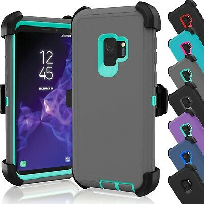 Shockproof Case Cover for Samsung Galaxy S9 / S9 Plus (Fits Otterbox Belt Clip)
