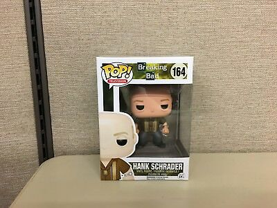 Funko Pop! Television Breaking Bad Hank Schrader #164 New In Box w/ Protector