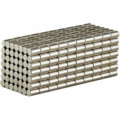 30Pcs Super Strong Cylinder Disc Magnets 5mm x 10mm Rare Earth Neodymium N52