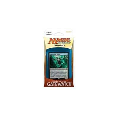 Magic The Gathering Oath of The Gatewatch Intro Pack - Twisted Reality (Blue)