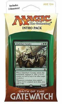 Magic The Gathering Oath of The Gatewatch Intro Pack - Concerted Effort (Green)