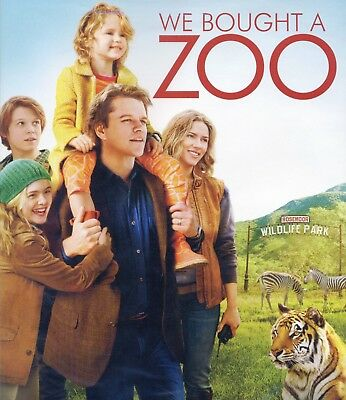 We Bought a Zoo 2012 PG family comedy movie new DVD Damon Johansson Fanning Dove