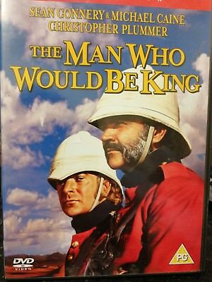 The man who would be King dvd (vg)
