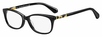 Kate Spade Kaileigh WR7 Eyeglasses Black Havana Frame 50mm