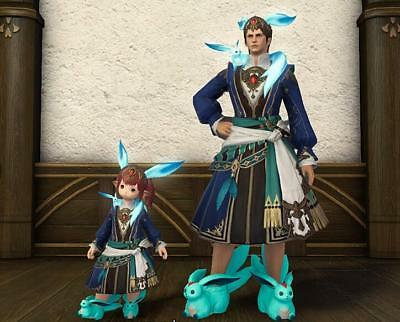 FINAL FANTASY XIV FFXIV FF 14 Item Character - Emerald Carbuncle Slippers - GIL