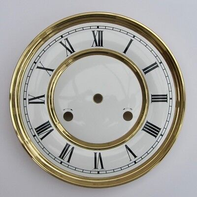 Original Hermle clock dial 180mm diameter from 241 movement nearly new